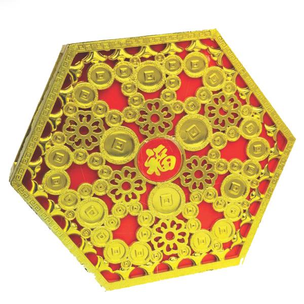 Bánh trống lục giác